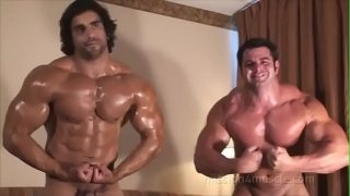Frank Defeo and Angelo Antonio Worship in Bed